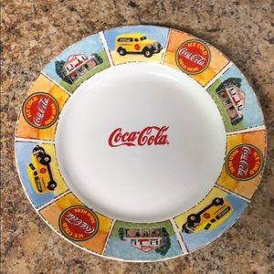Coca Cola serving plate